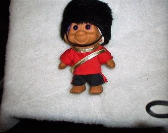 SALE! Vintage British Royal Guard Troll
