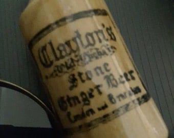 Antique Clayton's Stone Ginger Beer Bottle