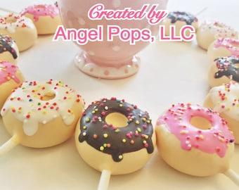 Doughnut Cake Pops