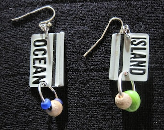 Let's Go to the Beach! Ear Rings