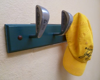 Vintage Wilson Gear Effect Golf Club Heads Coat Rack