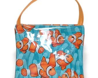 Girls Clown Fish Flat Mini