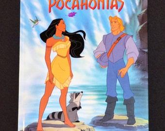 1995 Disney's Pocahontas Hardcover Book
