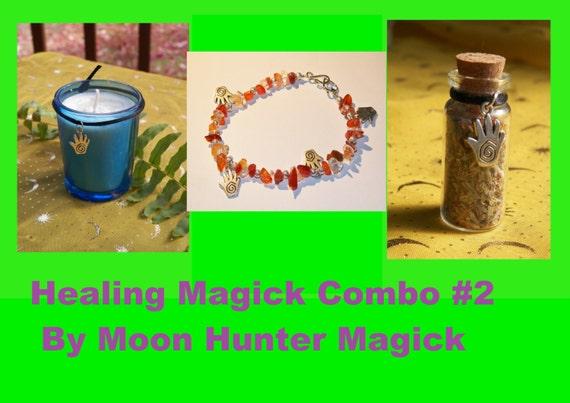 Healing Magick Combo Kit #2 Healing Ritual Reiki Aromatherapy Healing Ritual Kit