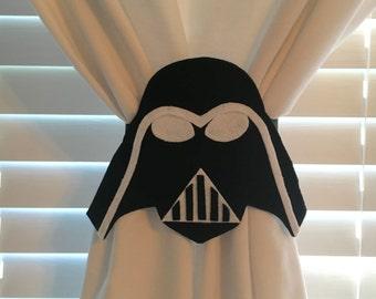 The Dark Side Curtain Tie-Backs Set of 2