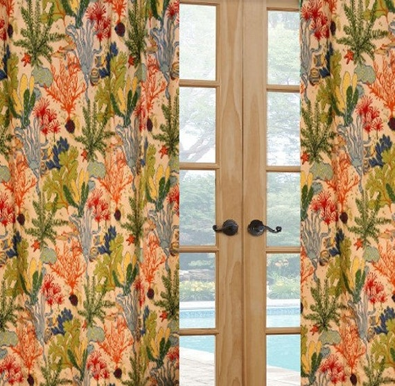 Tropical sale curtains custom made indoor outdoor curtains - Custom made outdoor curtains ...