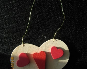 My Funny Valentine Wooden Heart Ornament