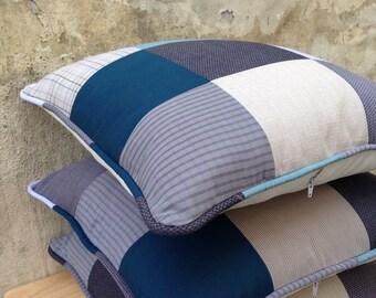 Keepsake/Memory personalised patch work cushion