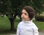 Princess Leia Inspired Hat