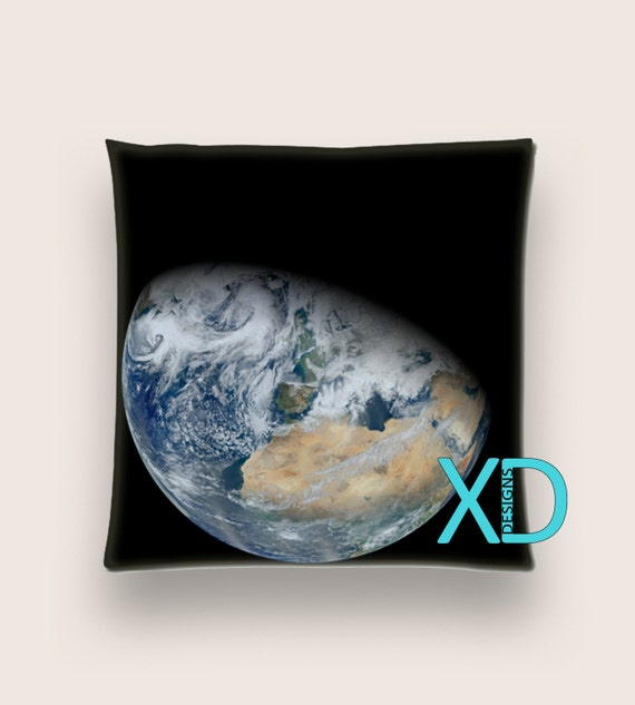 Throw Pillow Method Space Faerie : Earth Pillow Planet Pillow Cover Solar System Pillow Case