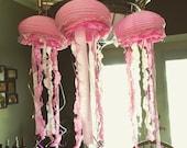 Pink Jellyfish Party Decor Paper Lantern