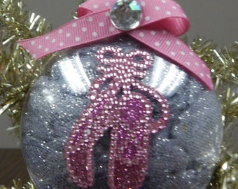 Bling Ballet Dancer Ornament-Can be Customized!