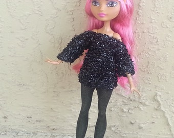 Ever After Tunic Top and Leggings Set for EAH Dolls Pretty in Punk