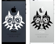 iPhone 4, 5, 6 Decal  Sticker - Majora's Mask Zelda decal Majora's Mask decal