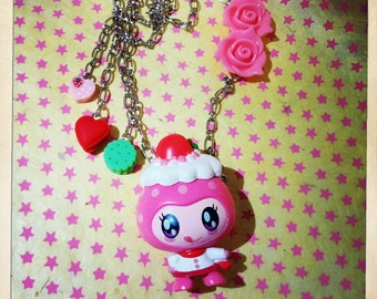 Necklace pendant necklace Tamagotchi Decoratchi