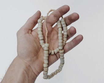 White African Trade Bead Necklace