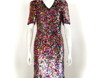 Collection Colorful Sequin Dress Pictures - Reikian