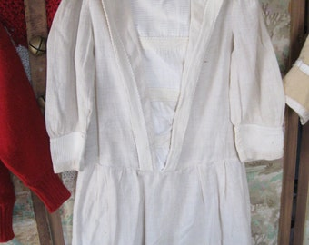 Victorian Child's Drop-Waist Dress