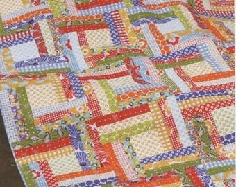 Off The Rail Quilt Pattern by Jaybird Quilts (JBQ110)