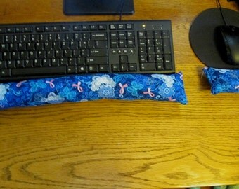 Cancer Awareness Wrist Rest, Keyboard Wrist Supports, Mouse Wrist Rest