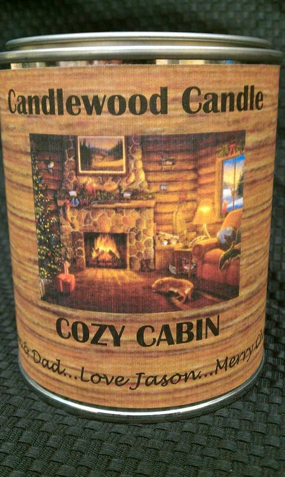 COZY CABIN -  PERSONALIZED Gift, Gift for Man, Gift for Woman,Custom Gift, Send your message, Free Shipping in United States