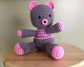 Hand Crocheted Bears-Made to Order
