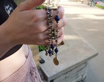 Rosary, Silver Beaded, St. Martha Partonage