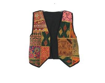 Hippie Patchwork Vest