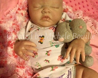 Valentine Special....reborn baby girl London sculpt by Denise Pratt reborn by Michele Bouille available for adoption