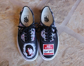 Hand Painted Shoes - Eminem