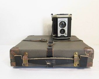 Vintage Film Reel Shipping Box Film Case
