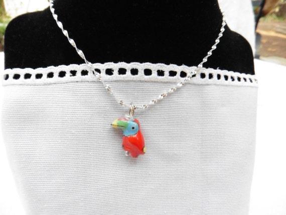 Parrot Bird Necklace / women's jewelry / teen Jewelry / girls  Jewelry/ jewelry / women