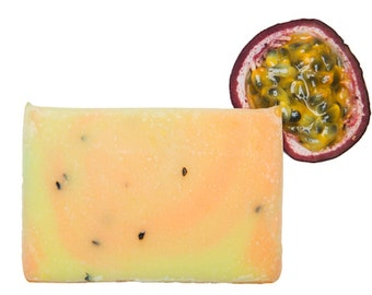 Passion Fruit Soap, Handmade Soap, All Natural Soap, Soap Bar, Homemade Soap, Cold Process Soap, Olive Oil Soap, Vegan Soap, Fruit Soap