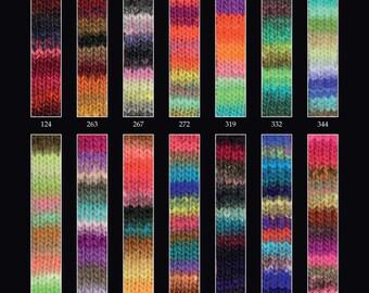 Noro Kureyon 50g Various Shades Available 100% Wool