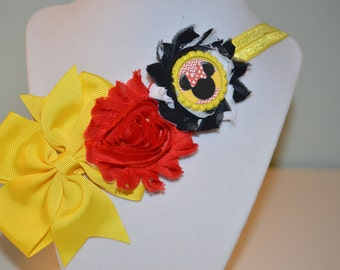 Red and Black Disney Headband