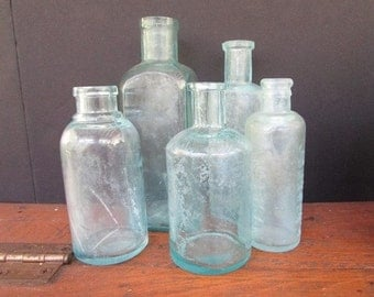 Blue BOttle Vintage Apothecary Collection