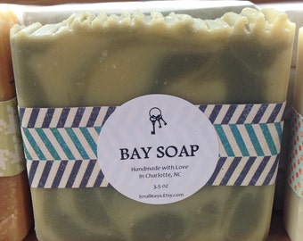 Bay Handmade Soap - Vegan, Cold Process, All Natural