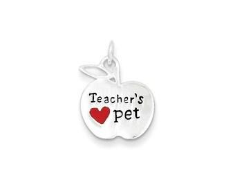 Sterling Silver Teacher's Pet