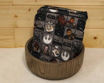 One Sandwich Bag, Reusable Lunch Bags, Waste-Free Lunch, Machine Washable, Star Wars, Sandwich Sacks, item #SS96