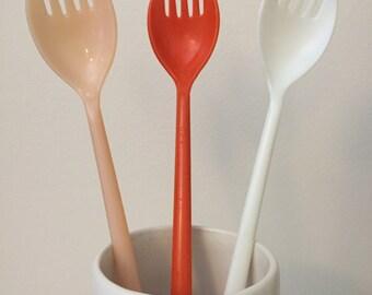 Vintage Tupperware Long Handle Forks Sporks 175