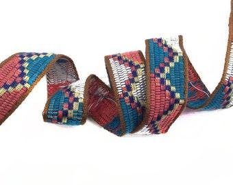 Tribal Ethnic Aztec Woven Trim 2 YARDS
