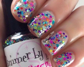 Glitter Madness handmade custom nail polish
