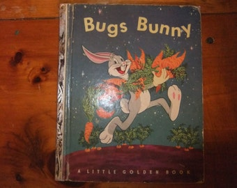 VINTAGE BUGS BUNNY Little Golden Book
