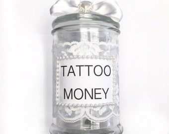 Unique money jar related items etsy for Cool money jars