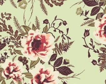 Baby Bedding Crib Bedding - Vintage Coral, Pink, Mint Floral
