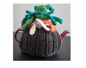 Tea Cosy KNITTING PATTERN, Tea Cosy Pattern, Knitting Patterns, Cosy Pattern, Tea Cozy Knitting Pattern, Easy Pattern, Pdf Knitting Pattern,