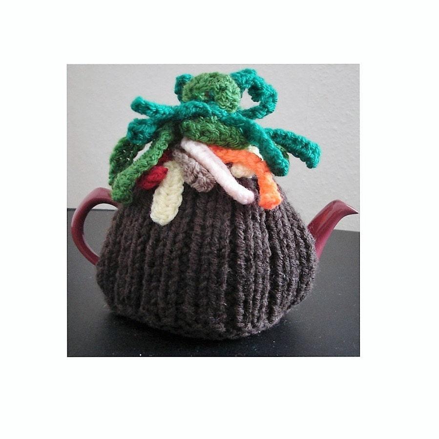Tea Cosy Patterns Easy Knit : Tea Cosy KNITTING PATTERN Tea Cosy Pattern Knitting