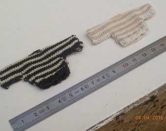 1/12th miniature striped sweater - 2 colors to choose