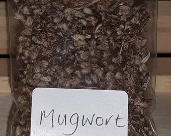 MUGWORT - Home Grown  -  Loose Magical & Healing Herb - Strength - Dreamwork - Protection - Spells and Incense – Magic - Wicca – Pagan