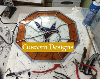 Custom Stained Glass Design